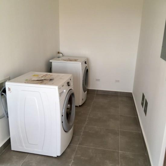 Storage & Laundry room