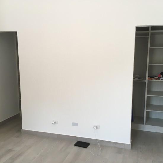 Walk-in closet master bedroom